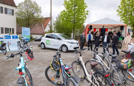 Segnung E-Bike Ladestation